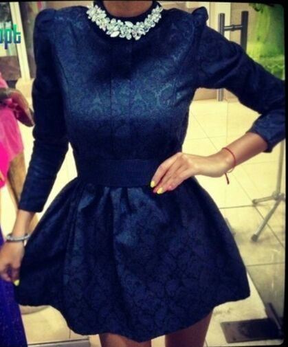 sukienka mini bizuteryjna