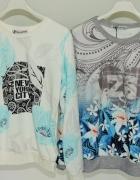 Milutka bluza w wzory kwiatowe