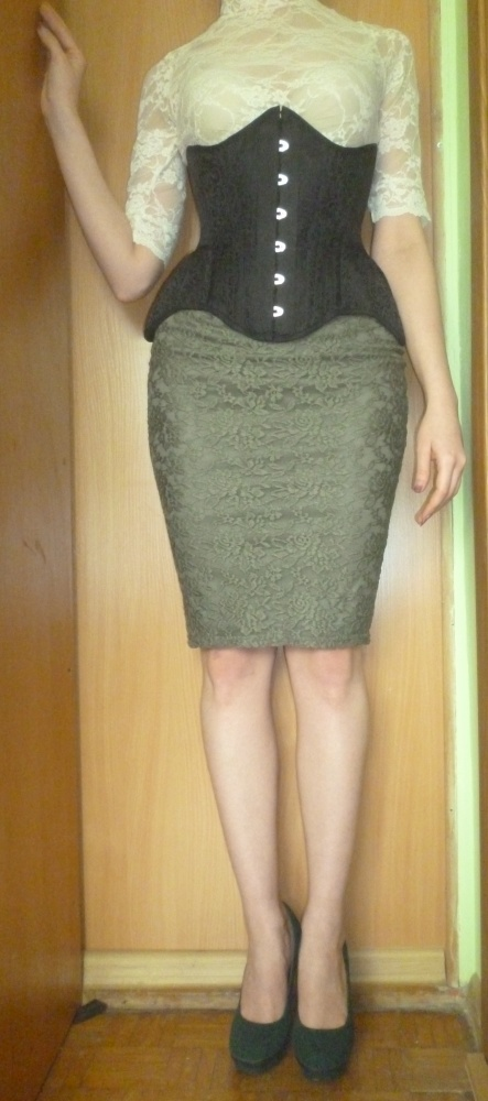 Mój styl Gorset&koronki