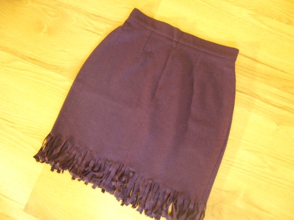 Spódnice Orsay spódnica frędzle 38