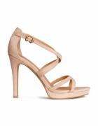 Sandałki na szpilce H&M
