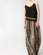 Mango leopard maxi skirt...