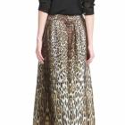 Mango leopard maxi skirt