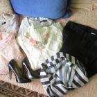 Spodnie sweterki i szpilki