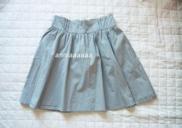 Spódnice Rozkloszowana spódniczka H&M szara