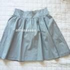 Rozkloszowana spódniczka H&M szara