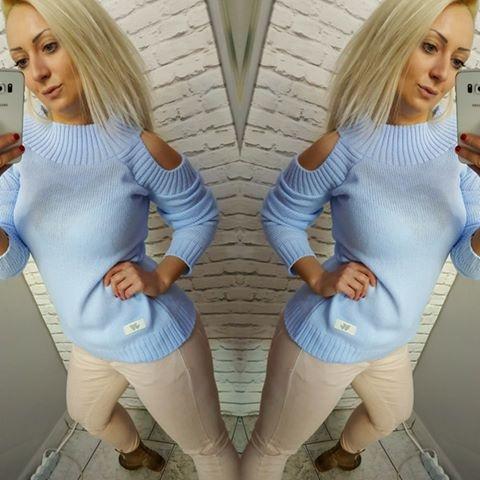 Codzienne Sweterek błękit