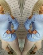 Sweterek błękit