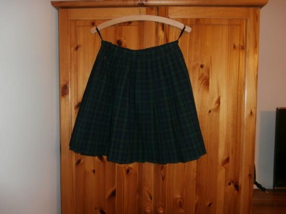 Spódnice Spódnica plisowana typu college w szkocką kratę