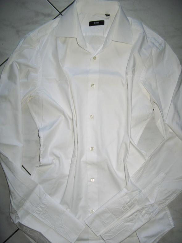 bf2b75bd4ebe5 HUGO BOSS biała elegancka koszula roz 39 w Koszule - Szafa.pl
