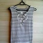 top bluzka paski pasiak marynarski H&M xs