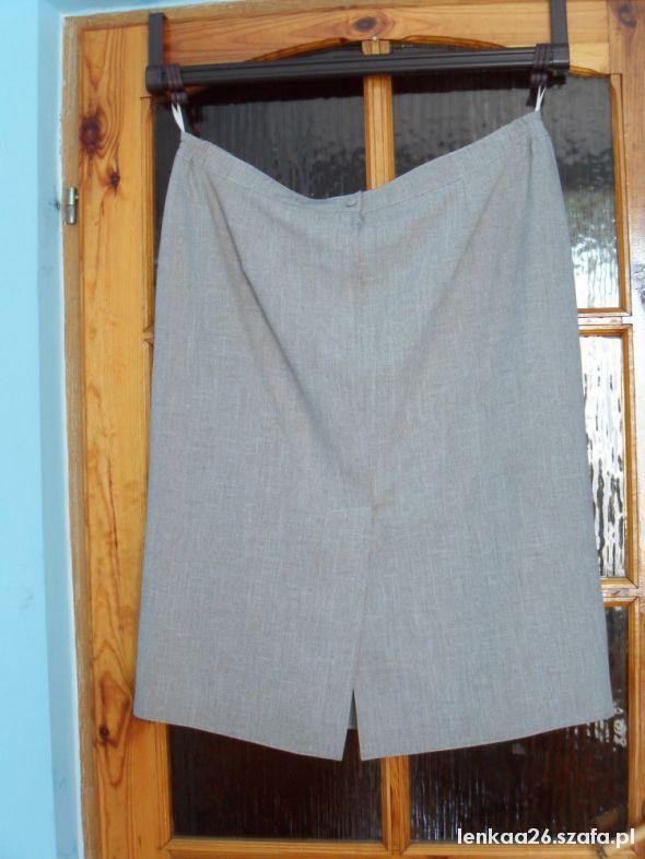 Spódnice beżowa spódnica 54