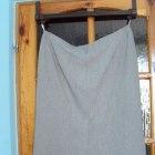 beżowa spódnica 54