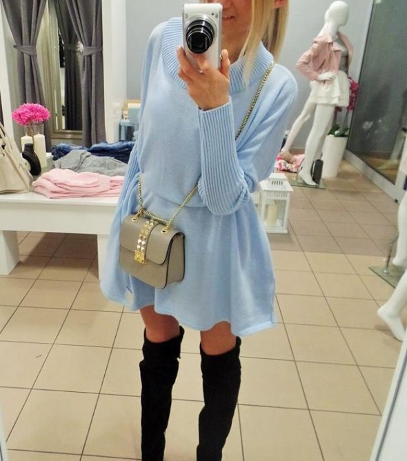 Codzienne sukienka blue