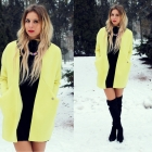 Żółty płaszcz z pianki