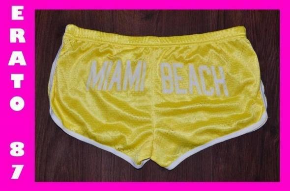 spodenki szorty tally weijl miami beach neon 36 s...