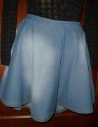 Spódnica jeansowa rozkloszowana L TOPSHOP