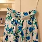 spódnica kwiaty pin up