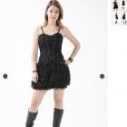 Sukienka sukienka DEAD THREADS z Rockmetalschop
