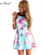 Wiosenna sukienka floral