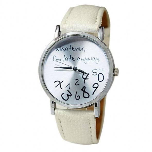 Zegarek Biały Liczby