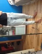Spodnie jeansy boyfriend Zara