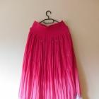 Monsoon długa zwiewna spódnica róż cekiny 38