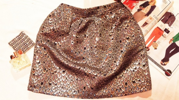Spódnice nowa reserved pawie piora