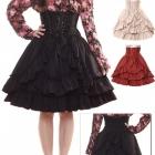 Bodyline lolita spódnica spódniczka czarna goth