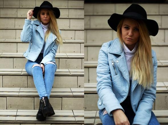 Blogerek Blue Jacket