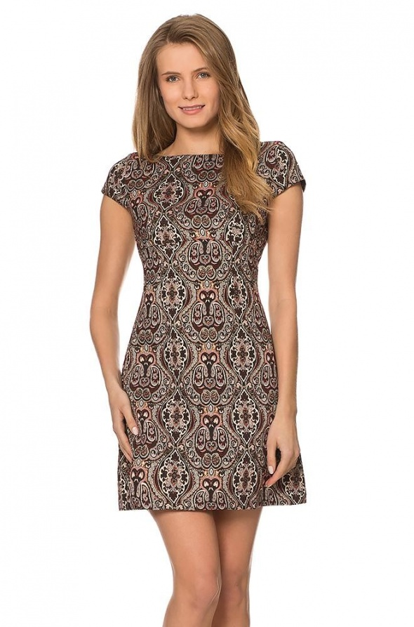 Ubrania orsay sukienka żakardowa