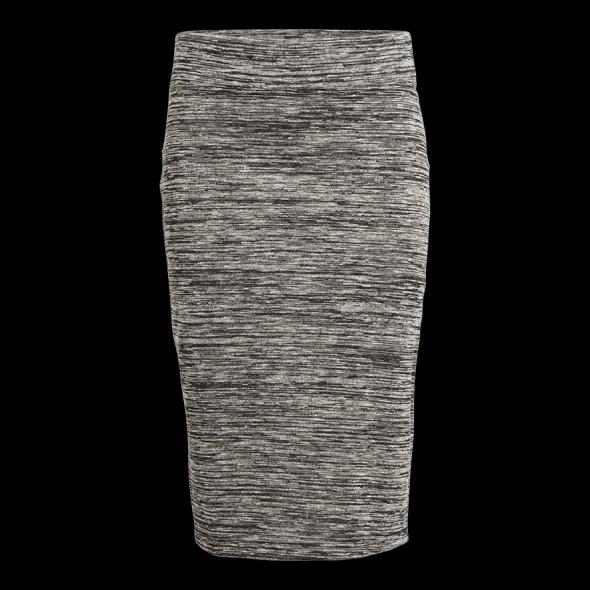 Spódnice LINDEX szara melanżowa spódnica 38 M