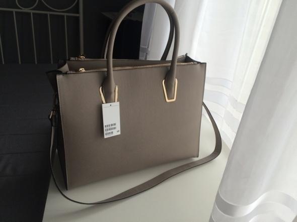 H&M szara torba NOWA