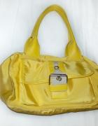 torba kuferek żółta...