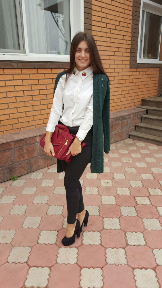 Eleganckie jesienna stylizacja