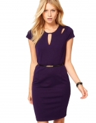 Fioletowa sukienka