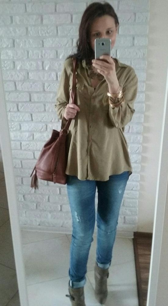 Mój styl Lubię khaki