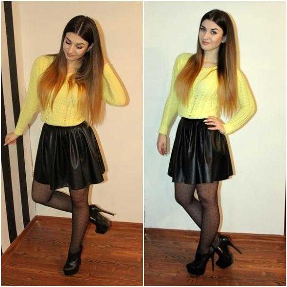 Blogerek yellow sweater