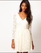 sukienka koronkowa 40 L RĘKAW...