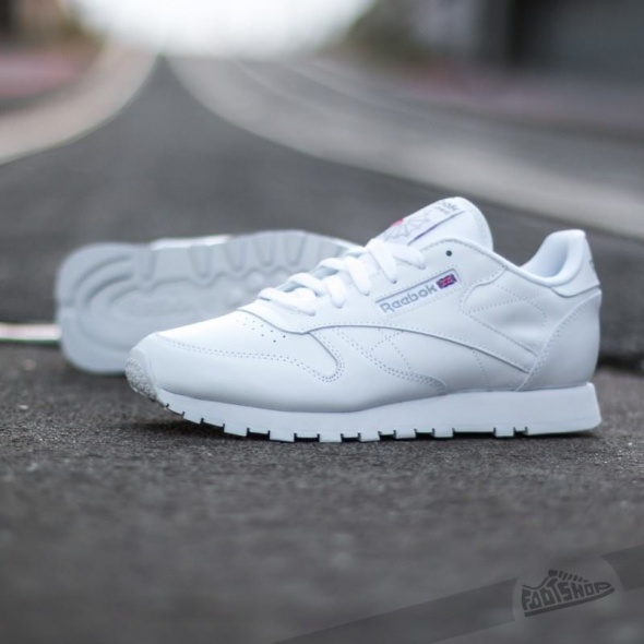 Obuwie Reebok White Leather Classic