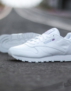 Reebok White Leather Classic...