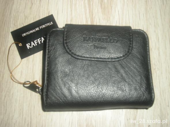 81beaf8675ab1 Rafaello portfel damski czarny 12cmx95cm w Portfele - Szafa.pl