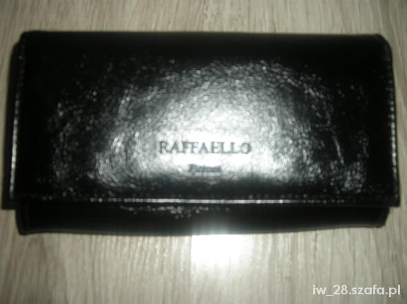 fee237e248bca Rafaello portfel damski czarny 165cmx95cm w Portfele - Szafa.pl