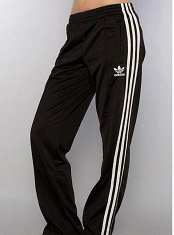 74d82dda96b33 czarne dresy z białymi paskami Adidas w Dresy - Szafa.pl
