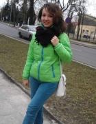 Zielona kurtka