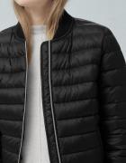 Idealna kurtka kupiona na wiosnę pikowana czarna