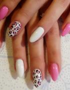 Panterkowy wiosenny manicure