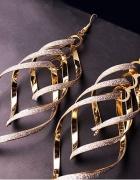 Kolczyki Złote Plecionka