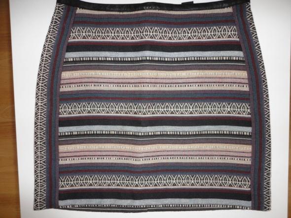Spódnice Spódnica aztecka etno H&M S 36