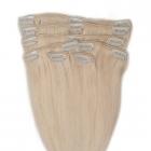 Włosy Clip in Remy 40 cm BLOND
